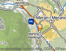 Map: la maiena meran resort