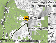 Mappa: Laugenspitze / Monte Luco