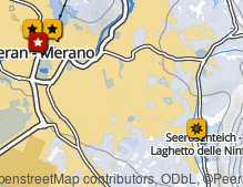 Map: Spa town of Merano