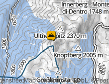 Map: Laugenspitze / Monte Luco