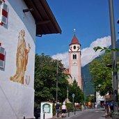 Dorf Tirol Kirche