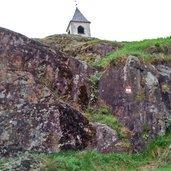 Aufstieg zum Kirchlein St. Hippolyt