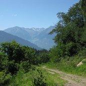 Auch der Rückweg zeigt uns Südtirol