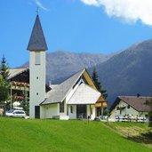 Die Kirche von Vernagt am See