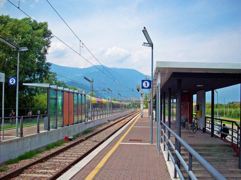Zugbahnhof von Gargazon