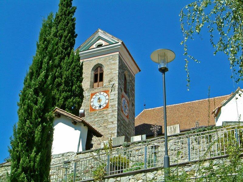 Maria Aufnahme Kirche in Schenna