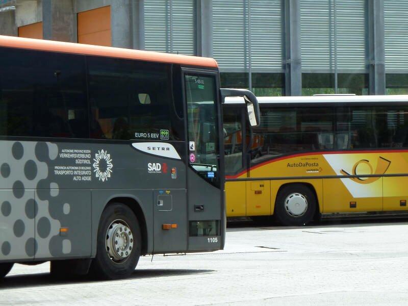 Bus Und Zug Meran Und Umgebung