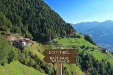 Meraner Höhenweg Etappe 3 Vernuer Longfall Muthöfe