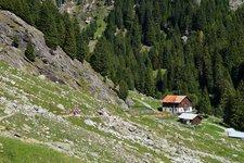 Meraner Höhenweg Etappe 4 Leiteralm Nasereit Giggelberg