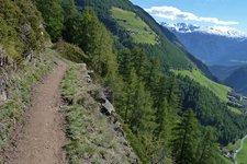 Meraner Höhenweg Etappe 7 Katharinaberg Pfossental