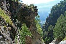 Meraner Höhenweg Etappe 5 Tal der Tausend Stufen