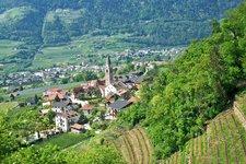 Algund Dorf Lagundo paese