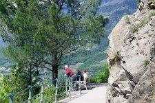 Tappeinerweg Meran passeggiata Tappeiner Merano