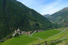 Schnalstal Katharinaberg Senales Monte Santa Caterina