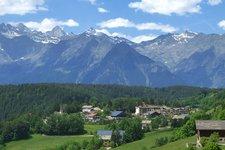 Hafling Dorf Avelengo paese