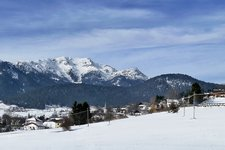 St. Felix unsere liebe Frau im Walde Winter S. Felice Senale inverno
