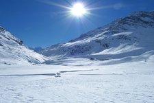 Winterwanderung Lazins