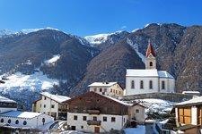 Schnalstal Katharinaberg Winter Senales Monte Santa Caterina inverno