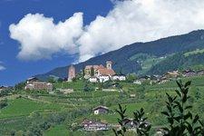 Schenna Dorf Scena paese