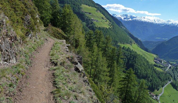 Meraner Höhenweg Katharinaberg - Vorderkaser, Foto: AT, © Peer