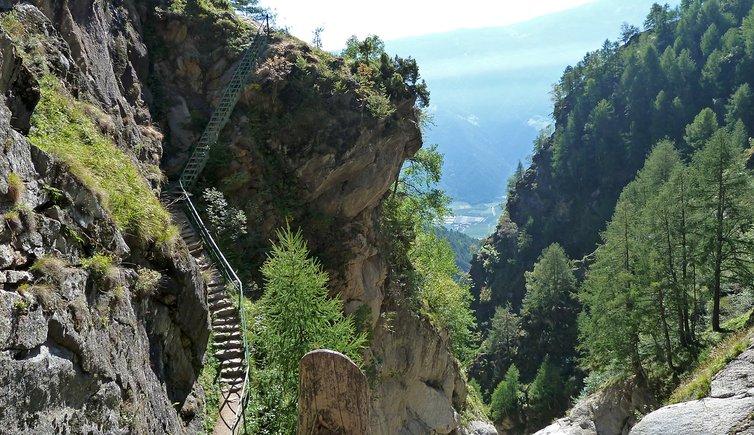 Meraner Höhenweg Giggelberg - Unterstell, Foto: AT, © Peer