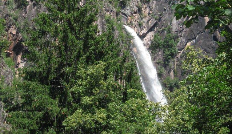 Escursione famigliare alla cascata più alta dell'Alto Adige, Foto: MS, © Peer
