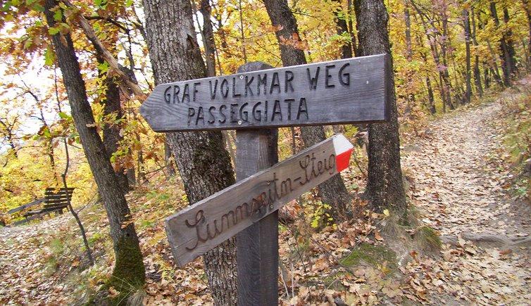 Passeggiata Graf Volkmar, Foto: AT, © Peer