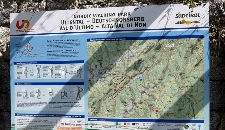 ultental tafel nordic walking
