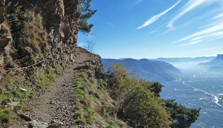 Sentiero Vellauer Felsenweg, Foto: AT, © Peer