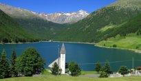 Vernagt am See Schnals Vernago al Lago Val Senales
